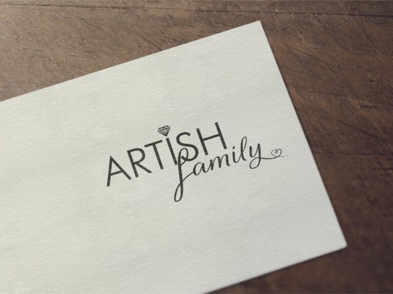 Дизайн на лого за бижутерски магазин Artish Family
