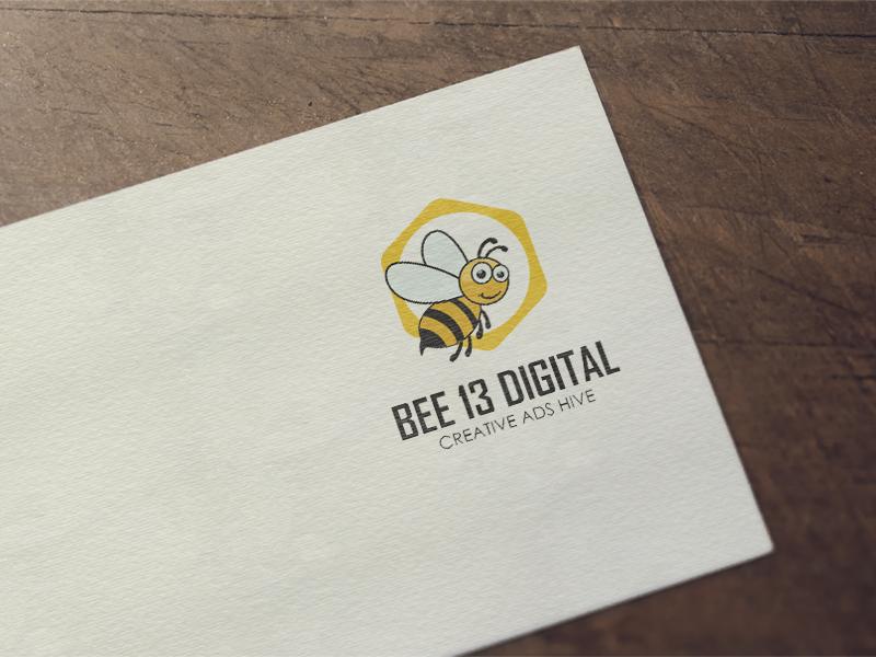 Дизайн на лого за Агенция за дигитален маркетинг Bee 13 Digital