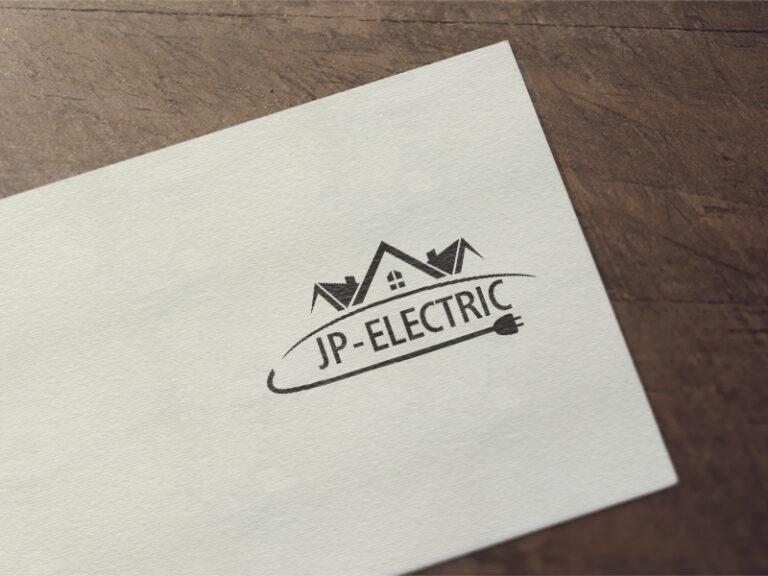Дизайн на лого за JP electric - електроуслуги